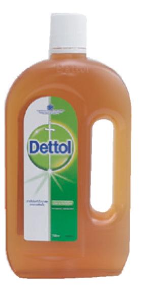 น้ำยาฆ่าเชื้อโรค เดทตอล (750 cc.)